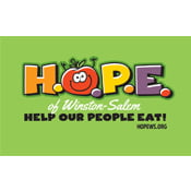Help Our People Eat HOPE logo